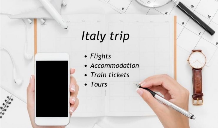 Best booking sites for travel to Italy