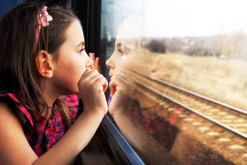 family train travel italy