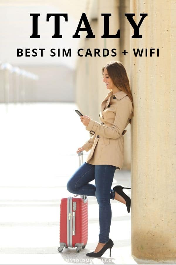 Italy travel - best SIM cards and wifi tips for your trip to Italy
