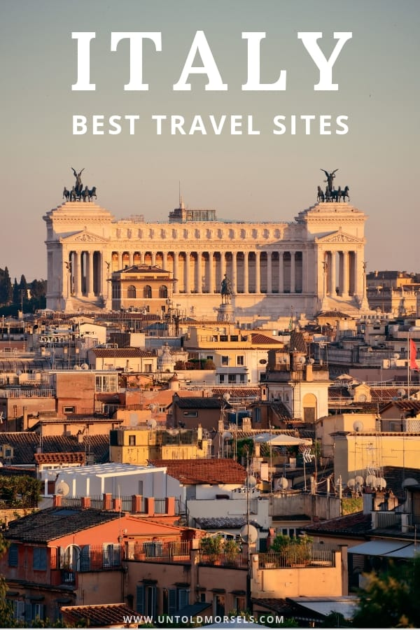 travel booking sites italy