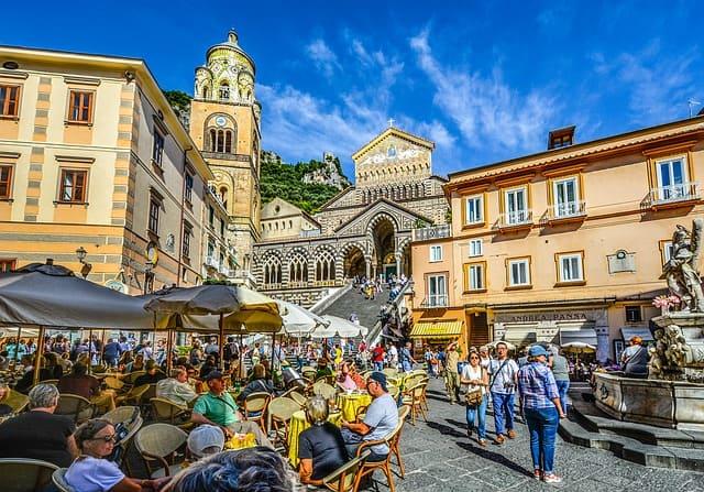 amalfi day trip from positano