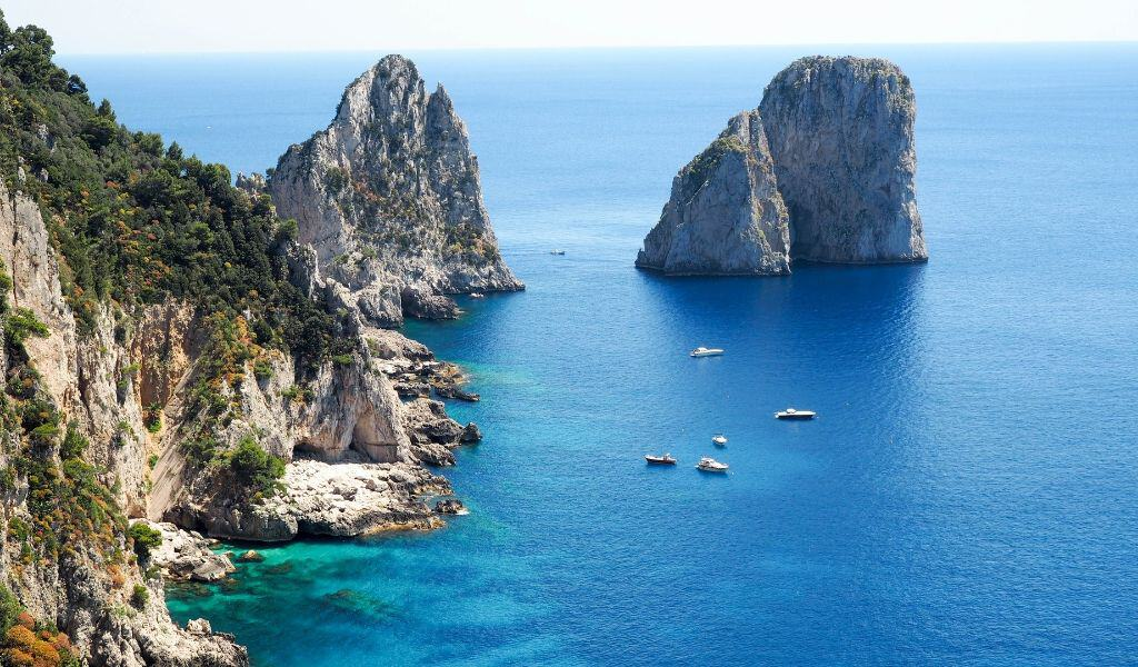 capri - best day trips from positano