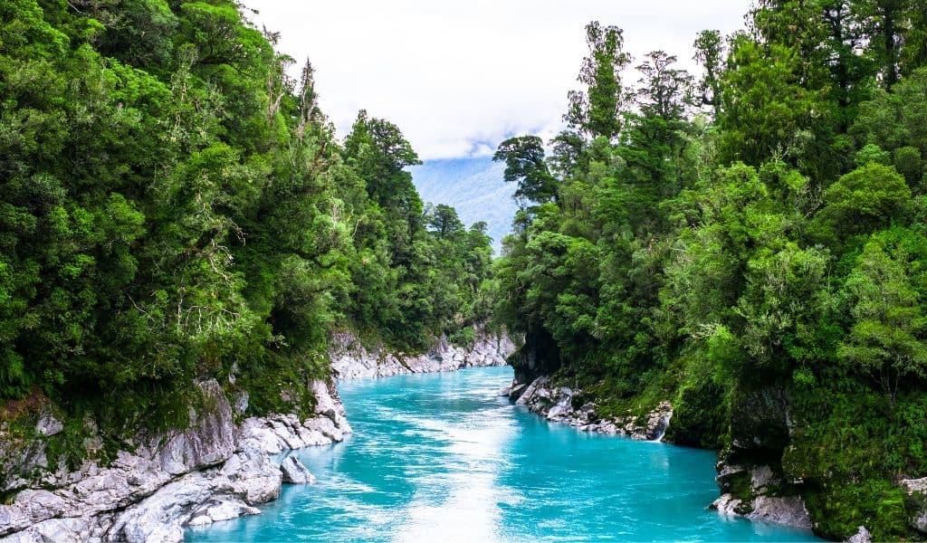 things to do south island new zealand - hokitika gorge