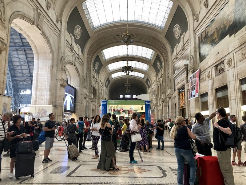 travel from milan to verona by train