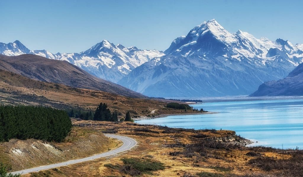 mount cook - touring the south island of new zealand
