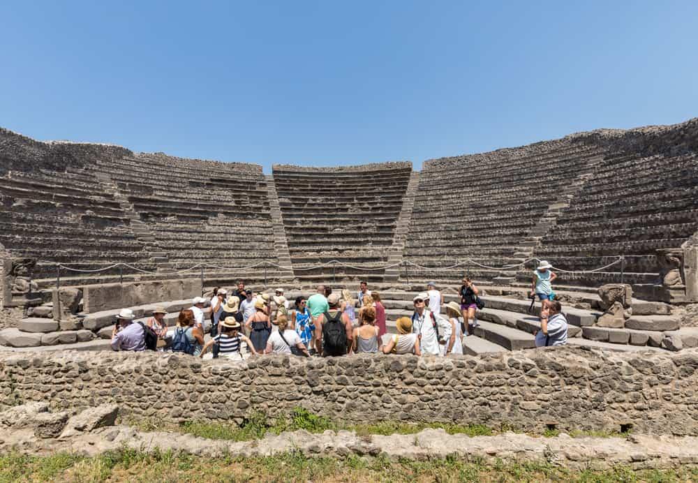 positano to pompeii day trip