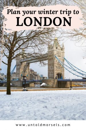 London travel: winter things to do in London and cosy places to stay