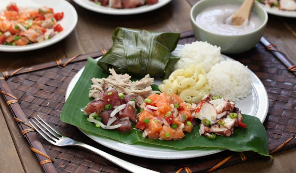 hawaii luau oahu food