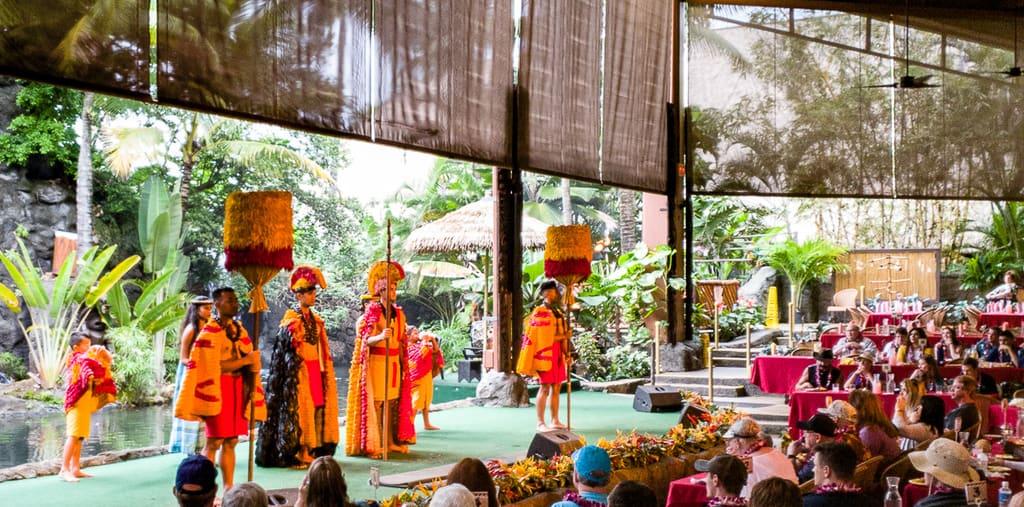 polynesian center luau