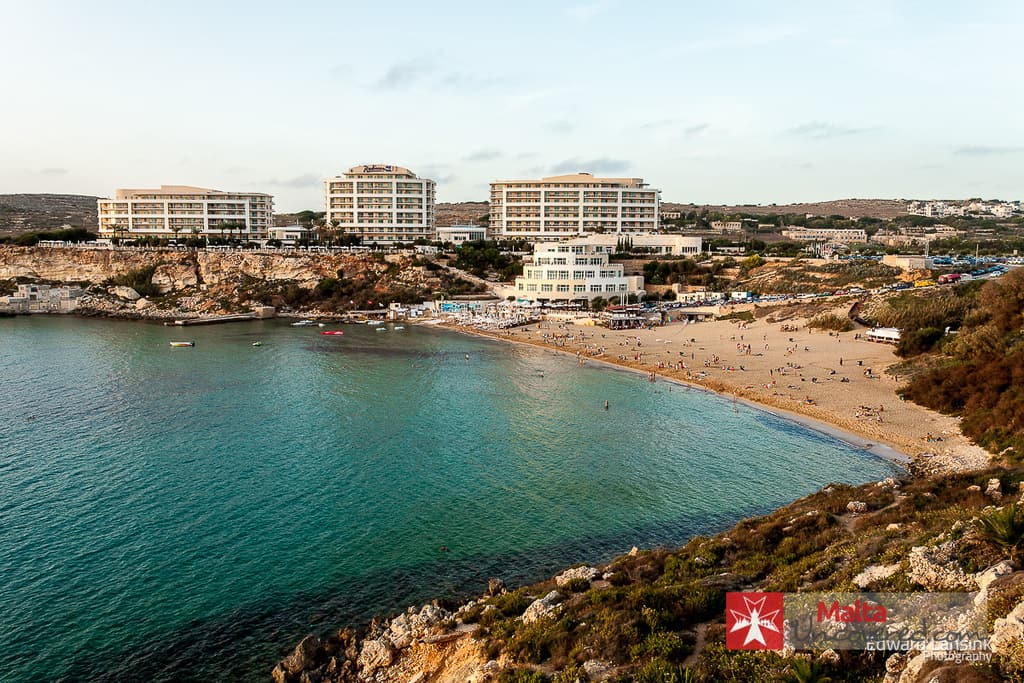 golden bay beach malta where to go