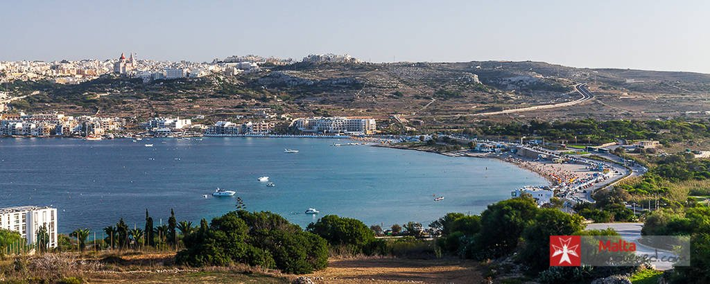 mellieha bay - malta things to do