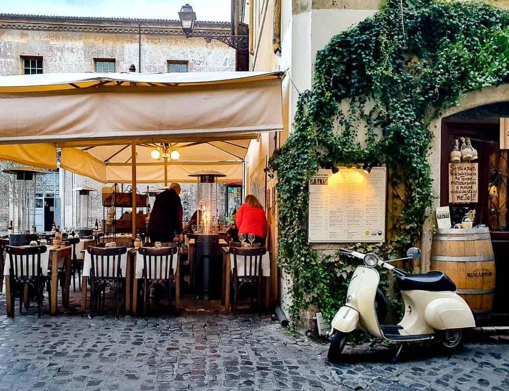 walking food tour rome trastevere